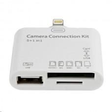 Переходник/флеш-карта/USB Camera Connection Kit 5/1 Lightning для iPad 4/mini