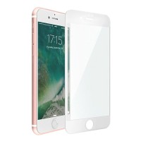 Защитное стекло 3D Curved Tempered Glass White для iPhone 7/8 Plus