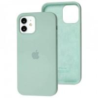 Чехол для iPhone 12 / 12 Pro Silicone Full бирюзовый / turquoise