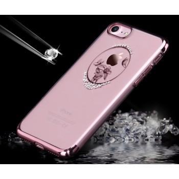 Чехол пластиковый Usams Zander Lotus Rose Gold для iPhone 7/8