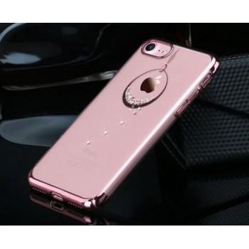 Чехол пластиковый Usams Zander Diamond Rose Gold для iPhone 7/8