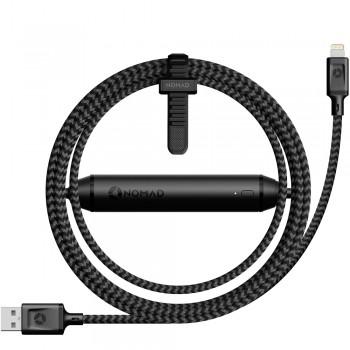 Кабель Nomad Battery 2350 mAh Lightning USB Cable 1.5 m Grey для iPhone/iPad/Macbook