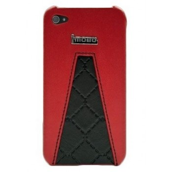 Чехол iMobo Hard Case BlackRed для iPhone 4/4S