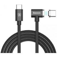 Кабель Baseus Type-C to Type-C 1.5M Magnet Cable Black для Macbook/планшета