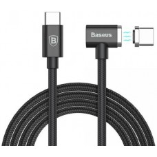 Кабель Baseus Type-C to Type-C 1.5M Magnet Cable Black для Macbook/планшета