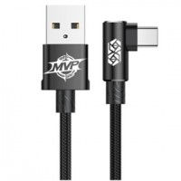 Кабель Baseus MVP Elbow Type-C to USB Cable 1 м Black для iPhone/iPad/Macbook/смартфона/планшета