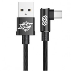 Кабель Baseus MVP Elbow Type-C to USB Cable 1 м Black для iPhone/iPad/Macbook/смартфона/планшета