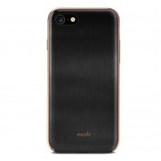 Чехол-накладка Moshi iGlaze черный для iPhone 7/8