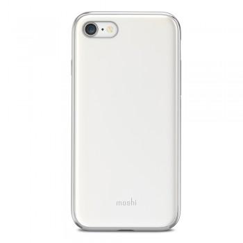 Чехол-накладка Moshi iGlaze белый для iPhone 7/8