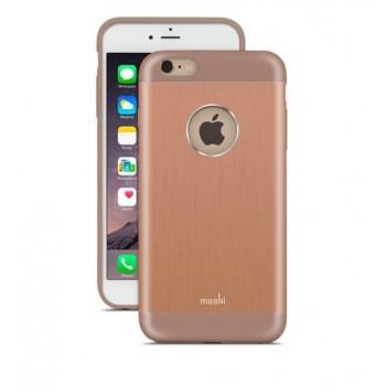 Чехол алюминиевый Moshi iGlaze Armour розовое золото для iPhone 6 Plus/6s Plus