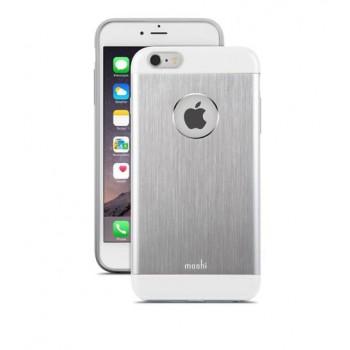 Чехол алюминиевый Moshi iGlaze Armour серебристый для iPhone 6 Plus/6s Plus