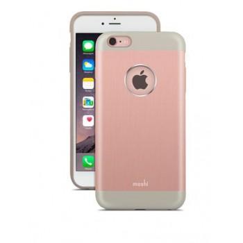 Чехол алюминиевый Moshi iGlaze Armour розовый для iPhone 6 Plus/6s Plus