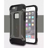 Чехол пластиковый Spigen Tough Armor Tech Black для iPhone 6/6S