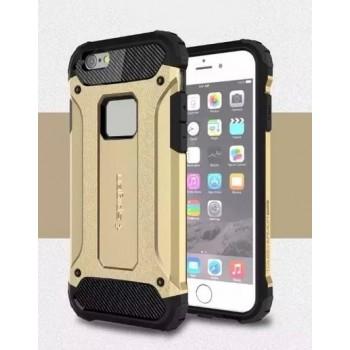 Чехол пластиковый Spigen Tough Armor Tech Gold для iPhone 6/6S