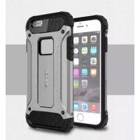 Чехол пластиковый Spigen Tough Armor Tech Silver для iPhone 6/6S