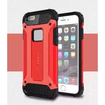 Чехол пластиковый Spigen Tough Armor Tech Red для iPhone 6/6S
