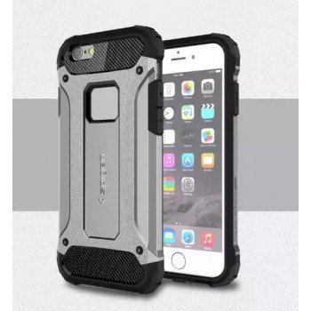 Чехол пластиковый Spigen Tough Armour Tech Silver для iPhone 6 Plus/6s Plus