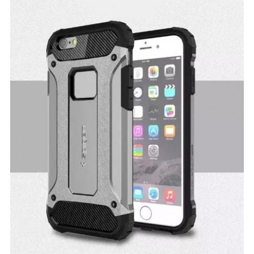 new products 5a3df 44a1d Чехол пластиковый Spigen Tough Armour Tech Silver для iPhone 6 Plus/6s Plus