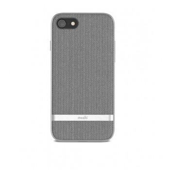 Чехол Moshi Vesta Textured Hardshell Case Herringbone Gray для iPhone 7/8