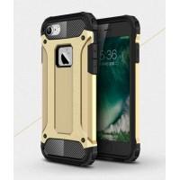 Чехол пластиковый Spigen Tough Armour Tech Gold для iPhone 7/8