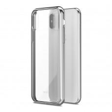 Чехол-накладка Moshi Vitros серебристый для Apple iPhone X/XS