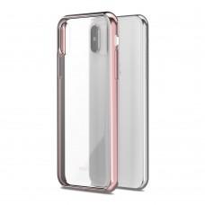Чехол-накладка Moshi Vitros розовый для Apple iPhone X/XS