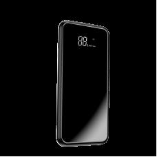 Внешний аккумулятор с беспроводной зарядкой Baseus full screen bracket wireless charge Power Bank 8000mAh Black