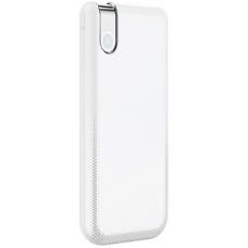 Внешний аккумулятор с беспроводной зарядкой Baseus Thin Version Wireless Charge Power Bank 10000 mAh White