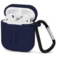 Чехол силиконовый Silicone Case Midnight Blue для Apple Airpods