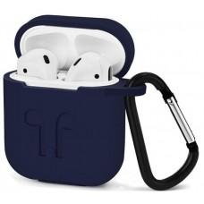 Чехол силиконовый Silicone Case Midnight Blue для Apple Airpods