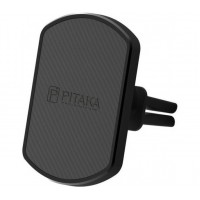 Автомобильный магнитный держатель Pitaka Magnetic Mount Car Vent Black для iPhone/смартфона