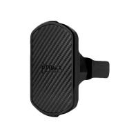 Автомобильный магнитный держатель Pitaka Magnetic Mount Qi Car Vent чёрный для iPhone/смартфона