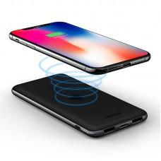 Внешний беспроводной аккумулятор iWalk Chic Air 8000mAh Black для зарядки QI устройств, iPhone, смартфона