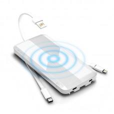 Внешний беспроводной аккумулятор iWalk Scorpion Air 8000mAh White для зарядки QI устройств, iPhone, смартфона