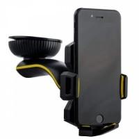 Автомобильный держатель Coteetci ST-03 черный для iPhone/смартфона