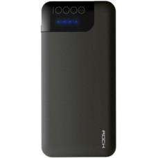 Внешний аккумулятор Rock P40 QC3.0 Power Bank 10000mAh BP-266-10K Grey для зарядки iPhone, смартфона