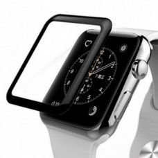 Защитное стекло 4D Full Glue Glass с полной проклейкой прозрачное для Apple Watch 42mm