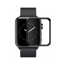 Защитное матовое стекло 3D Black для Apple Watch 42mm