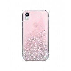 Чехол Switcheasy Starfield Case Pink для iPhone XR