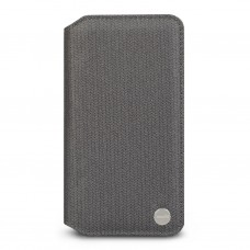 Чехол-книжка Moshi Overture Premium Wallet Case Herringbone Gray для iPhone XS Max