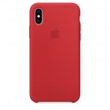 Чехол силиконовый Apple Silicone Case Red для iPhone XR