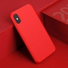 Чехол-накладка силиконовый Red для iPhone XS Max