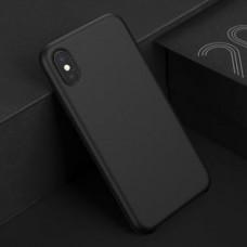 Чехол-накладка силиконовый Black для iPhone XS Max