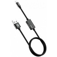 Кабель Baseus Music Series Audio CALYU Lightning USB Cable 1 m Black для Apple IPhone/IPad/IPod