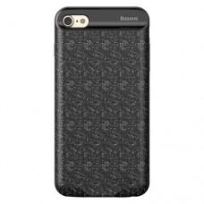 Чехол-аккумулятор Baseus Plaid Backpack 5000 mAh черный для iPhone 6/6S