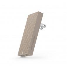 Сетевой зарядное устройство Native Union Smart Adapter 2 USB 3.1A Taupe для MacBook/iPhone/iPad/смартфона/планшета