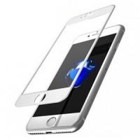 Защитное стекло 9D Curved Glass White для iPhone 7/8