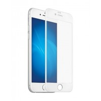 Защитное стекло 3D Curved Glass Матовое White для iPhone 6/6S