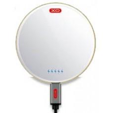 Беспроводное зарядное устройство XO WX001 Quick Wireless Charger White для зарядки Qi устройств/iPhone/смартфона/планшета
