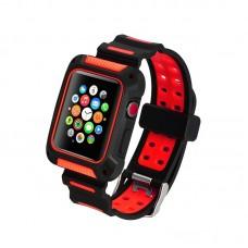 Ремешок-чехол Coteetci W31 Red 42mm для Apple Watch